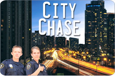 City Chase Board Game